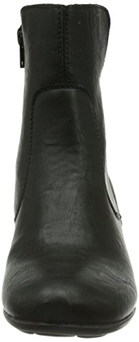 Rieker Z5371-01 - Botas Mujer Negro (schwarz/schwarz / 01)