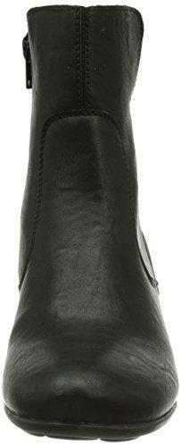 Z5371 Bottes Noires Schwarz 01 Rieker Femmes De schwarz 01 RPxgPwnq