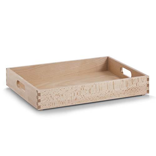 - Zeller 13307 Multi-Purpose Box 40 x 30 x 7 cm Beech Lacquered by Zeller
