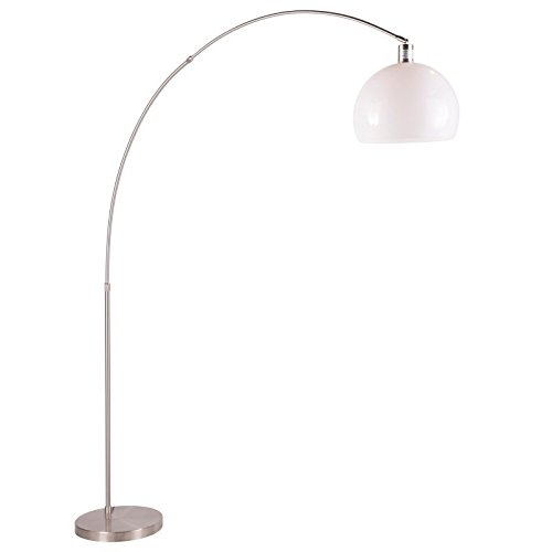 Lumisource Decco Modern Arched Floor Lamp, Satin - Floor Modern Lumisource Lamp