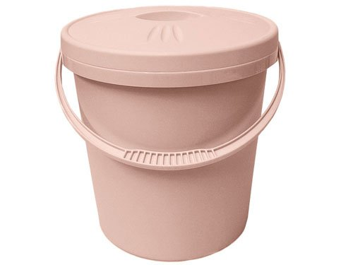 Junior Joy Nappy Pail with Lid (Pink) 6192PI