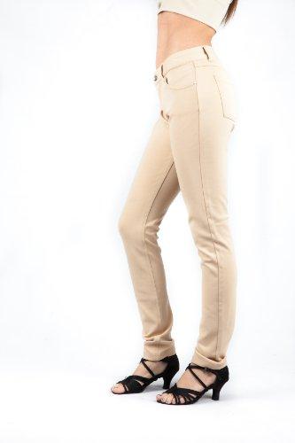Love Soho Junior Skinny Ponte Pants SG-PON-Khaki-XL