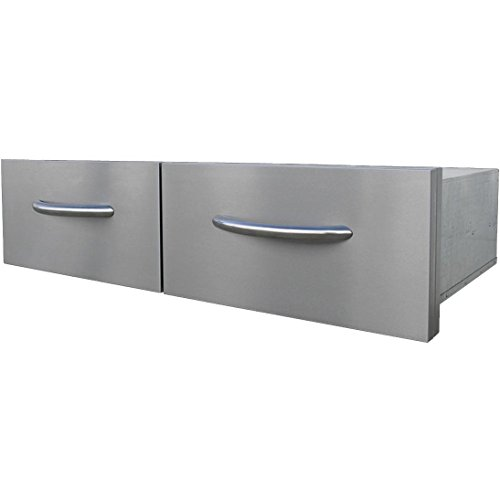Cal Flame 39-inch Horizontal Double Access Drawers - Bbq08867