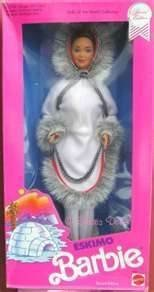 Dolls of the World Collection-Eskimo Barbie-Special Edition-1990