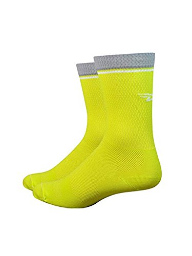 Lite Spring - Defeet Levitator Lite 5in Sock Sulpher Springs, L - Men's