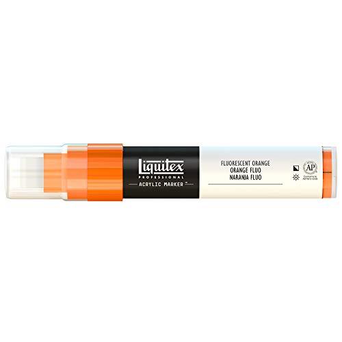 - Liquitex Professional Wide Paint Marker, Fluorescent Orange