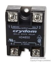 Crydom HD4850 Solid-State Relay, Input: 3-32VDC, Output: 480VAC 50A by Crydom