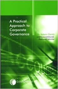 A Practical Approach to Corporate Governance
