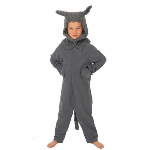 Peter And The Wolf Costumes (Wolf Costume for Kids 8-10 Yrs)