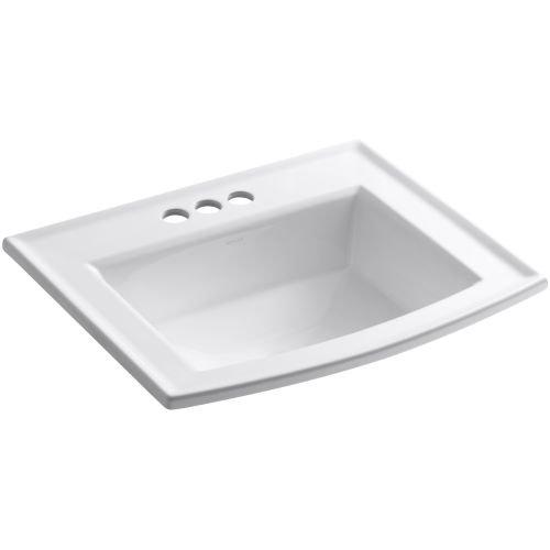 Kohler K-2356-4-0 Archer Bathroom Sink, - Archer Lavatory