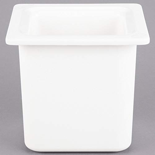 TableTop King CM110502 Coldmaster 1/6 Size White High Capacity Cold Food Pan - 6