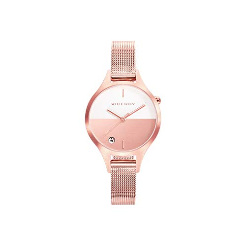 Viceroy Watch 42328-97 Air Woman White Steel Pink