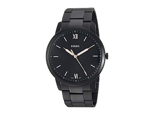 Fossil Men's The Minimalist 3H - FS5526 Black One Size