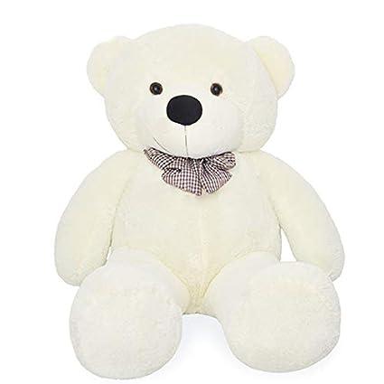 gran idea de regalo Talla:80 cm color blanco Oso de peluche gigante de Vercart