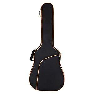 YWAWJ Ballade Baumwolle verdickt Schultern Gitarrentasche tragbare Tasche Gitarrentasche Dual Verstellbarer Schultergurt…