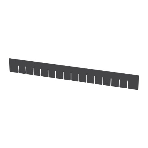 Akro-Mils 42223 PK Long Divider for 33223 Akro-Grid Slotted Divider Plastic Tote Box, Pack of 6 by Akro-Mils