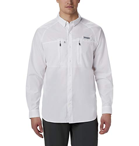 Columbia Men's PFG Terminal Tackle Long Sleeve Woven, Breathable, UV Sun Protection from Columbia