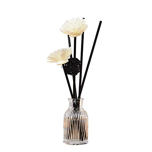 Orcbee  _Reed Oil Diffusers with Natural Sticks Glass Bottle and Scented Oil 50ML Gift for Ladies (G)
