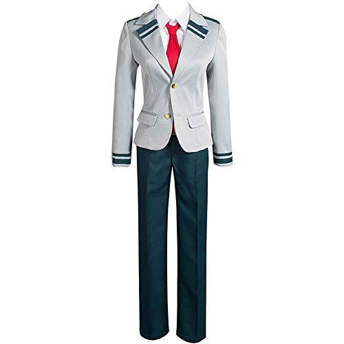 BUBABOX Cosplay Boku no Hero Academia My Hero Academia Izuku Blazer Costume School Uniform Suit Matching Hair(L Pants Suit)