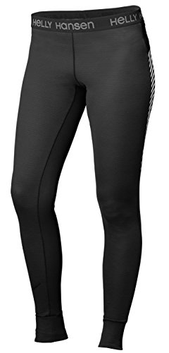 Helly Hansen Women's HH Active Flow Baselayer Pants, X-Large, Ebony