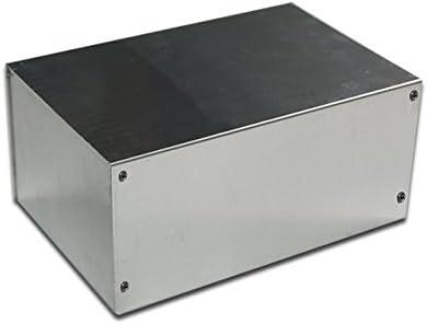 "SA854 8"" Full Aluminum Electronic DIY Project Box Enclosure Case"