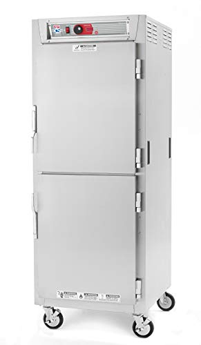- Metro C589X-SDS-UPDC C5 8 Series Pass-Thru Heated Holding Cabinet, Full Height, Stainless Steel, Dutch Solid Doors/Dutch Clear Doors, Universal Wire Slides