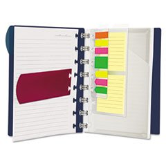 Versa Crossover Notebook, Wide-Rule, 8 1/2 X 11, Navy, 60 Sheets/pad, 2/pack By: Ampad