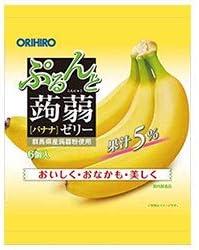 オリヒロ ぷるんと蒟蒻ゼリー バナナ 20gパウチ×6個×24袋入