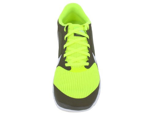 Nike Free 4.0+ Men'S Running Shoes, Grey/Yellow, Uk10.5