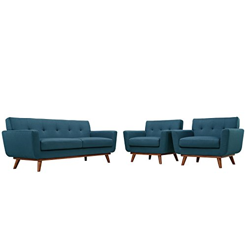 Engage 2 Armchairs and Loveseat by Modway