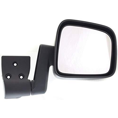 Kool Vue Manual Mirror For 2003-2006 Jeep Wrangler (TJ) Driver Side