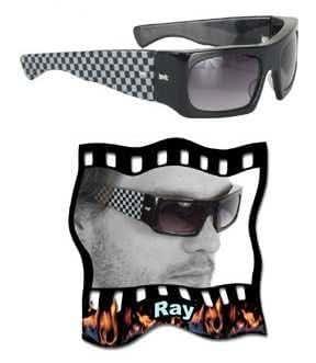 Amazon.com: Blind Man Glasses - Ray: Clothing
