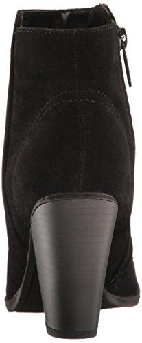 Black Bootie Breckelles Heather Boots 34W Suede qvIwI8