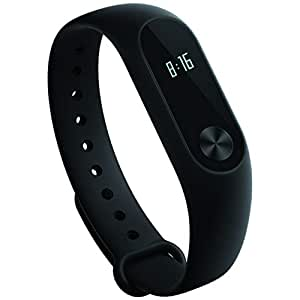 Xiaomi MGW4024GL Mi Band 2 Miband with OLED Display Wristband Bracelet Smart Heart Rate Fitness Activity Tracker 20 Days Standby Time, Black