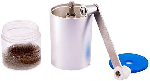 Hogar Mini Cafetera Mano Molinillo de café Manual Aluminio Durable ...