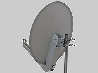 Alu-antena Gibertini OP 85 SE de color gris claro