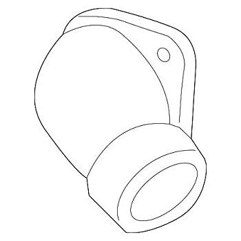 Amazon Com Kia 25631 23501 Engine Coolant Thermostat Housing