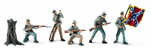 Safari Ltd  Designer TOOBS Civil War Confederate Soldiers Collection (Designer Toy Figure)
