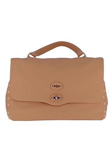 Leder Beige Handtaschen 6134P6V2 Zanellato Damen qwtp8xvX