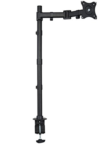 VIVO Single Monitor Desk Mount Extra Tall Fully Adjustable Stand for up to 27