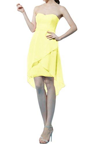 Missdressy - Vestido - trapecio - para mujer amarillo 60