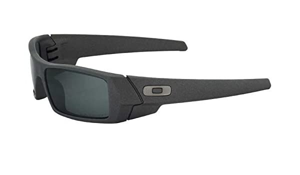 d4ad1adec1 Amazon.com  Oakley SI Gascan Polarized Sunglasses Cerakote Cobalt  Frame Black Iridium Lens  Sports   Outdoors