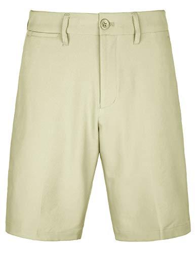 (Bakery Men's Golf Shorts Khaki Stretch Tech Light Relaxed Fit Quick Dry Twill Short Size 40 Khaki)