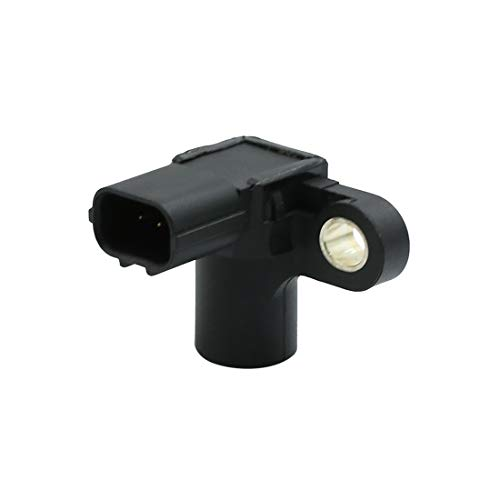 (X AUTOHAUX Car 3 Terminals Crankshaft Position Sensor 37840-RJH-006 DC 12V for Honda Civic 2001-2005 1.7L)