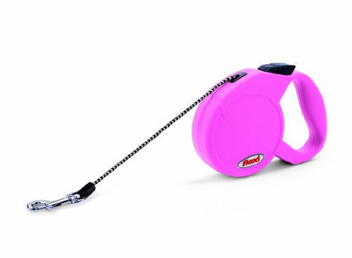 X-Small Freedom Dog Leash Color: Pink 10 feet