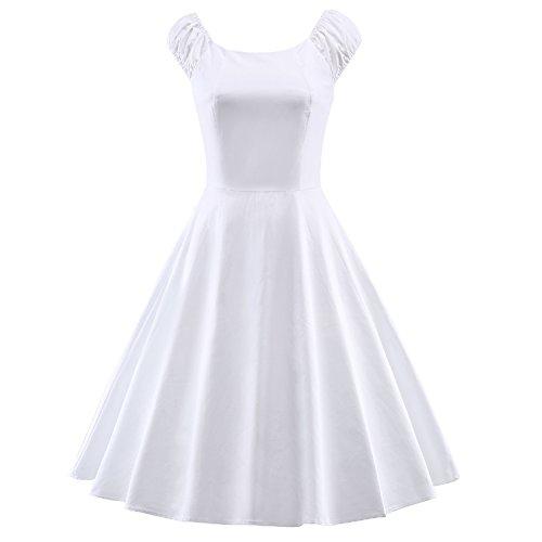 Puff Sleeve Dress - 4