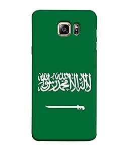 ColorKing Football Saudi Arabia 05 Green shell case cover for Samsung S6 Edge Plus