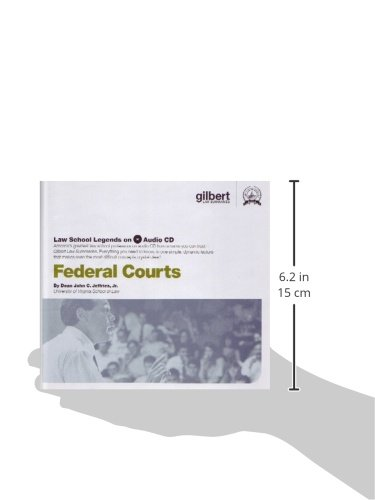 Federal Courts (Law School Legends Audio Series) by Gilbert