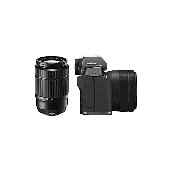 RetinaPix Fujifilm X-T200 Mirrorless Camera Body with 15-45 mm + 50-230 mm Dual Lens Kit - Dark Silver