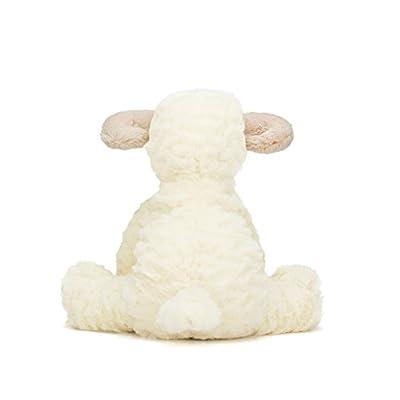 Jellycat Fuddlewuddle Lamb Stuffed Animal, Medium, 9 inches: Toys & Games